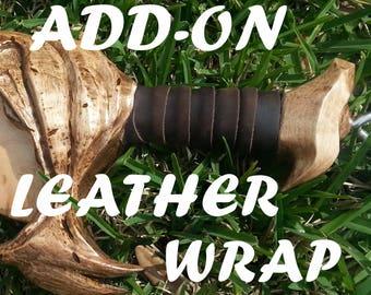Leather Wrap - **ADD-ON ITEM**
