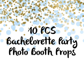 Bridal Photo Booth Props, Party Props, Photo Booth Props, Party Supplies, Party Decor, Party, Photo props, Bridal Party Decor, Bridal Party