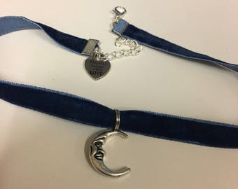 Moon Man Choker