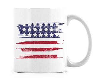 Summer Coffee Mug Labor Day Patriotic Gifts USA Labor Day Labor Day Gift USA Labor Day Gift American Flag Cup Red White and Blue