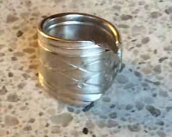 1929 Drexel Silver Spoon Ring