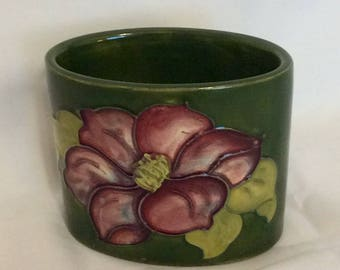 MOORCROFT Vase HIBISCUS