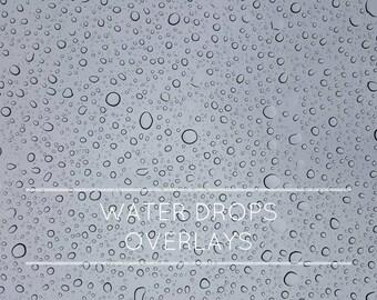 14 Water drop overlays, rain drop, rain overlay, overlays, photo overlays, photography overlays, water drop, photoshop overlays, digital art