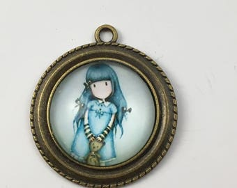 The little girl pendant