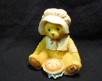 Cherished Teddies Nicole November Bear Thanks For Friends 914851 Boxed