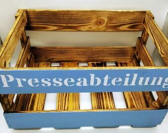 Magazine box, newspaper rack, magazine holder, book box, office, newspaper holder, Journal stand, storage, Magazin Holder