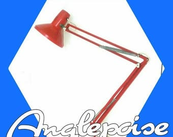 Herbert Terry Anglepoise Lamp in Red