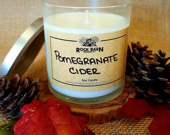 Pomegranate Cider 7.5 oz. Soy Candle
