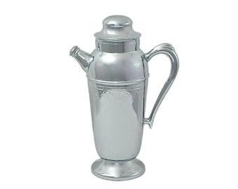 Vintage Beverage Decanter, Martini Shaker, Wine Decanter, Cocktail Shaker Pourer, Carafe, Cocktail Pitcher, Cocktail Shaker, Vintage Barware