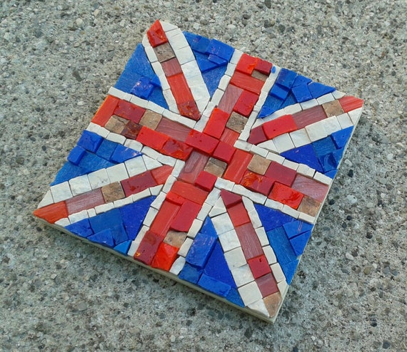Union jack mosaic kit diy crafts for adults mosaic wall art union jack mosaic kit diy crafts for adults mosaic wall art mosaic tile project do it yourself christmas gift ideas from myrijoy on etsy studio solutioingenieria Image collections