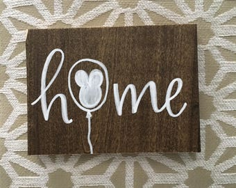 Home Wooden Mini S Collection Disney Decor Home Decor Happiest Place On Earth