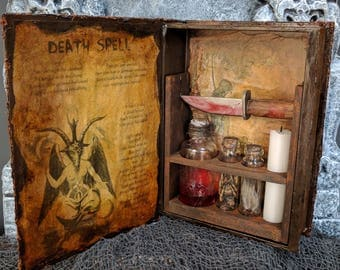 Death Spell Witch Kit