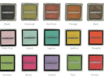 Kaisercraft Small ink Pads (Choose your desired colour)