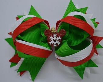 Disney Snowflake Ornament - Hair Bow Clip - 12.5cm