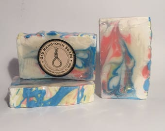 Shave and a Haircut Soap, Cold Process Soap, Homemade Soap, Handmade Soap, Vegan Soap