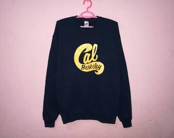 Rare!! Vintage Berkeley Cal Pullover Jumper Sweatshirt Size M