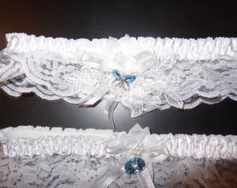 Wedding garter Set One to Keep and One to throw