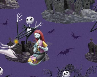 Nightmare Before Christmas Tie Blanket