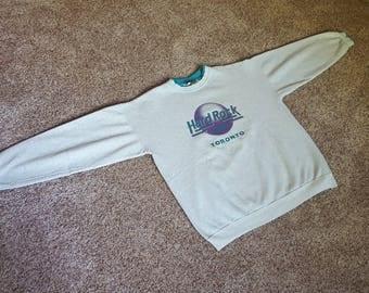 Vintage 80s / 90s  Hard Rock Cafe Toronto Sweatshirt