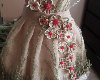 Brand new Elegant Look Gorgeous grass and jute Dress from contest