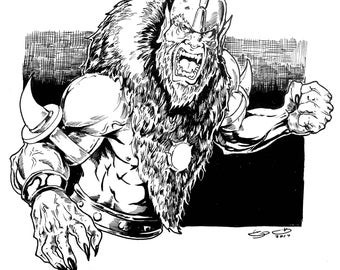 Beast-Man from He-man and MOTU