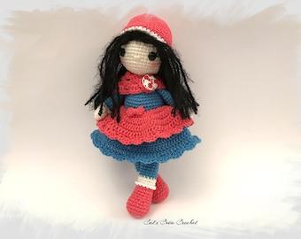Emma crochet doll