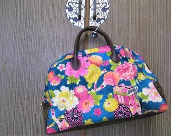 Japanese pattern Boston bag