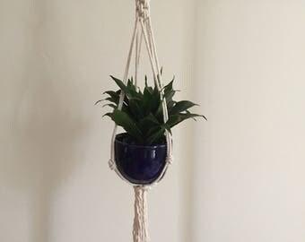 """Macrame Plant Hanger 31"""""""