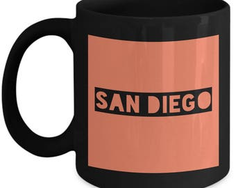 Traveler's San Diego Coffee Mug - San Diego - Best Gift for San Diego Lovers
