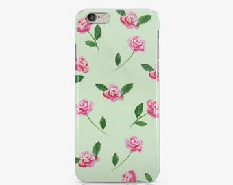 Roses iPhone 7 Plus Case iPhone 8 Plus Case Samsung Galaxy S8 Case Floral Gift For Her iPhone 8 Case iPhone 6 Plus Case iPhone 6 Case AC1310