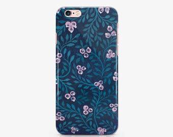 Floral iPhone 7 Phone Case iPhone 8 Case Flowers Phone Case iPhone SE Phone Case to Samsung S5 Case Galaxy S8 Case iPhone & Plus Case AC1312