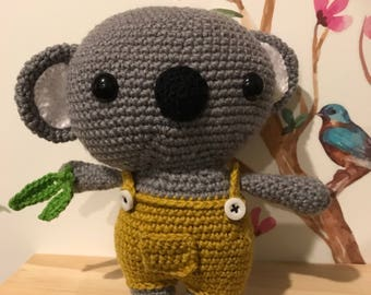 Cuddly Koala - Handmade Crochet - MADE TO ORDER