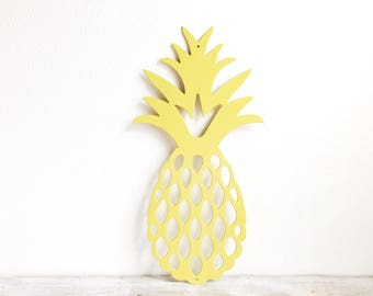 Pineapple Wall Art - Metal Pineapple - Pineapple Home Decor