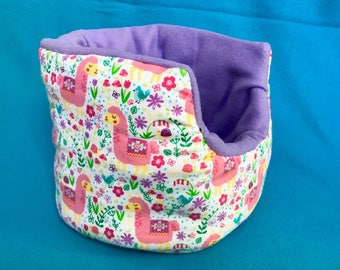 Made to Order Llama Cuddle Cup!! For Guinea Pigs, Hedgehogs, Rats, Ferrets, Small Animals!