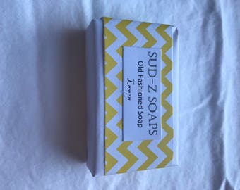 Hand-crafted Soap- Lemon