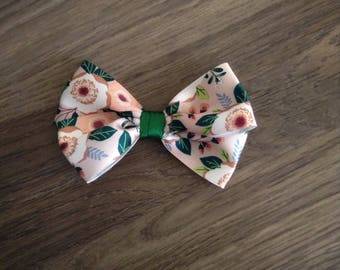 Forrest - Double Ribbon Bow Clip