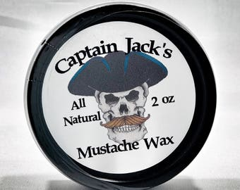 Captain Jack's All Natural Mustache Wax