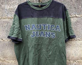 Vintage Nautica company T-Shirt Size M