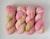 BLOSSOM - Hand Dyed Yarn – Choose Weight - Fingering  / Sport / Worsted – Superwash Variegated Yarn