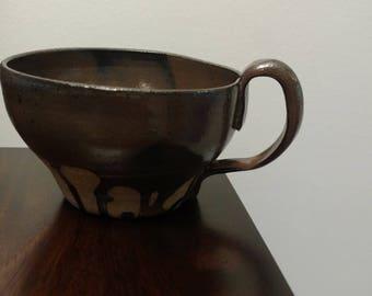Ironstone 14oz Coffee Mug - Drip Design