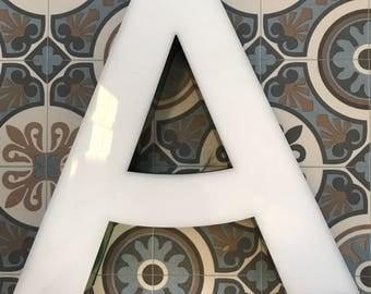 Vintage shop signage - 'A'