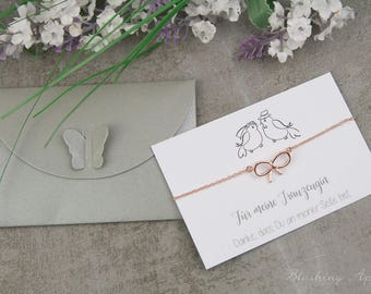 Bracelet - maid of honor - gift, wedding
