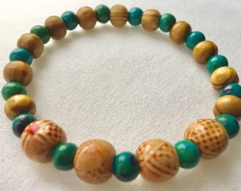 Unique Tribal Morrocan Beaded Bracelet