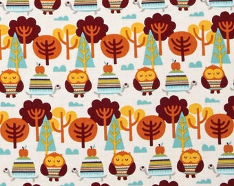 patchwork FESTIVE FOREST CAMELOT Fabric kids fabric