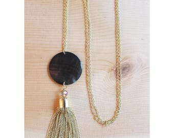 The Macie Chain Tassel