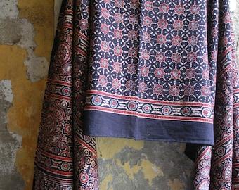 Ajrak Khadi Organic Cotton Stole