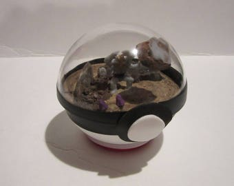 Machamp Mini-Terrarium