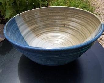 Large Wheel Thrown Bowl