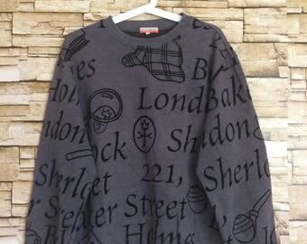 Vintage 90's JEAN CHARLES de CASTELBAJAC sweatshirt crewneck