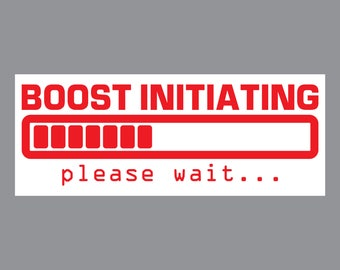 Boost Initiating Decal